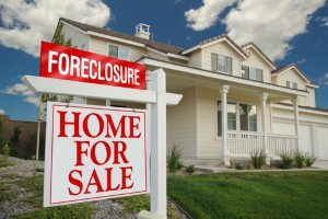 Many foreclosed homes haven't even been listed for sale yet.