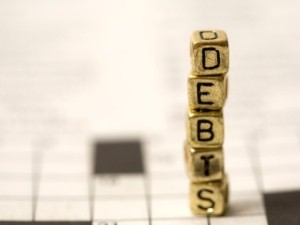 Private sector debt has led to continued troubles for the economy.