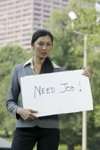 An improving job sector can help a struggling real estate market.