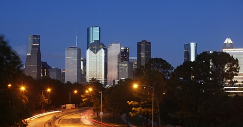 Houston is well to-do town, based on recent data from the Census Bureau.